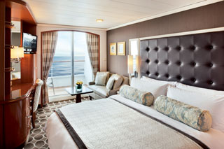 Balcony cabin on Crystal Serenity