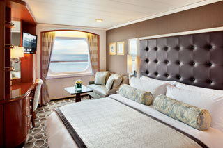 Deluxe Window Stateroom - Partially Limited View on Crystal Serenity