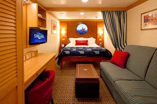 Standard Inside Stateroom on Disney Dream