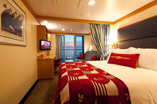 Balcony cabin on Disney Dream