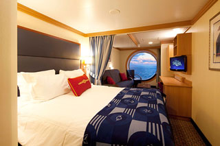 Oceanview cabin on Disney Dream