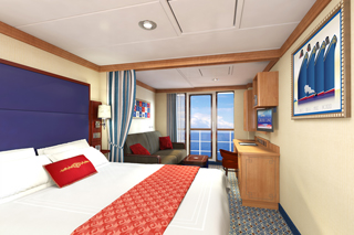 Suite cabin on Disney Dream
