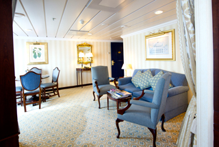 Suite cabin on Adonia
