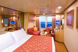 Suite cabin on Amsterdam