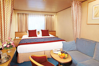 Oceanview cabin on Maasdam