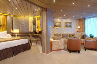 Suite cabin on Maasdam