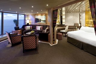Suite cabin on Rotterdam