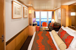 Suite cabin on Veendam