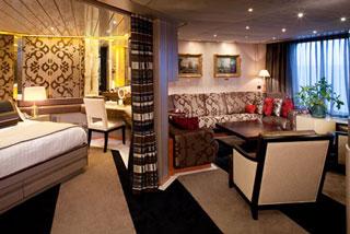 Suite cabin on Veendam