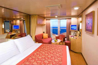 Suite cabin on Volendam