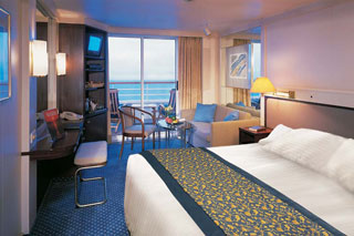 Suite cabin on Prinsendam