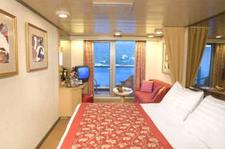 Balcony cabin on Westerdam