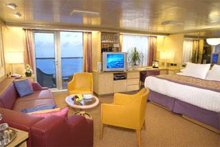Suite cabin on Westerdam