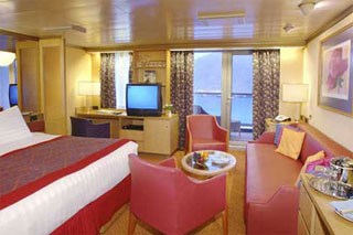 Suite cabin on Westerdam