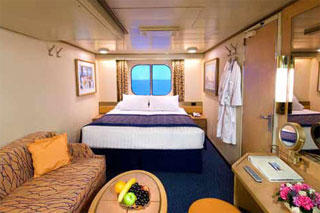 Oceanview cabin on Noordam