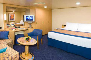 Inside cabin on Noordam