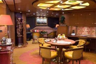 Suite cabin on Noordam