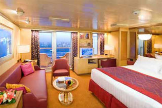 Suite cabin on Noordam