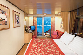 Balcony cabin on Noordam