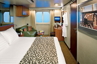 Oceanview cabin on Eurodam