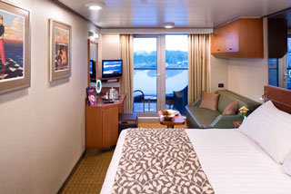 Balcony cabin on Eurodam
