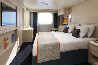 Oceanview cabin on Koningsdam