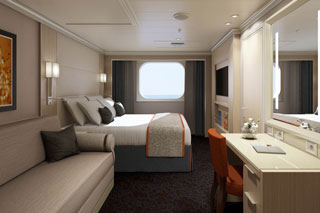 Cabins on Koningsdam