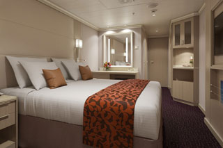 Inside cabin on Koningsdam