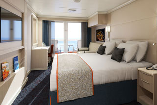 Balcony cabin on Koningsdam
