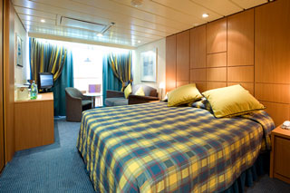 Suite cabin on MSC Armonia