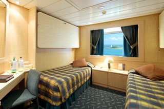 Oceanview cabin on MSC Armonia