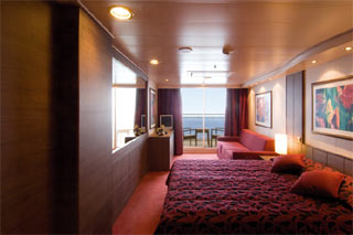 Suite cabin on MSC Musica