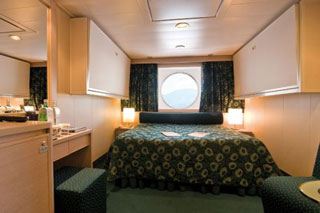 Oceanview cabin on MSC Musica