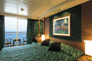 Balcony cabin on MSC Musica