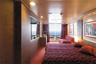 Suite cabin on MSC Orchestra