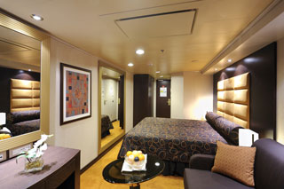 Oceanview cabin on MSC Fantasia