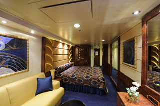 Deluxe Suite for Guests with Disabilities on MSC Fantasia
