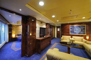 Suite cabin on MSC Fantasia