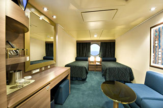 Oceanview cabin on MSC Splendida
