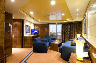 Suite cabin on MSC Splendida