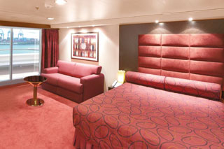Suite cabin on MSC Magnifica