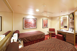 Inside cabin on MSC Preziosa