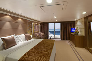 Suite cabin on MSC Preziosa
