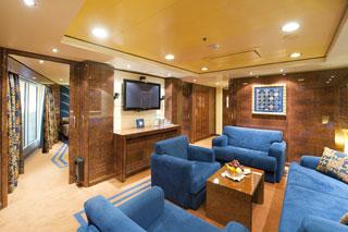 Suite cabin on MSC Preziosa