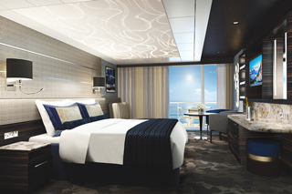 The Haven Courtyard Penthouse with Balcony on Norwegian Bliss