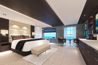 The Haven Spa Suite with Balcony on Norwegian Bliss