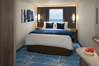 Oceanview cabin on Norwegian Bliss