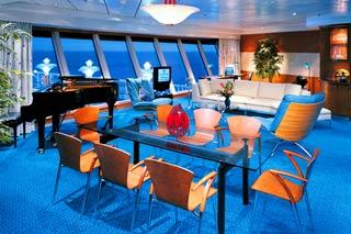 Suite cabin on Norwegian Star