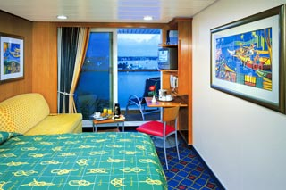 Balcony cabin on Norwegian Star