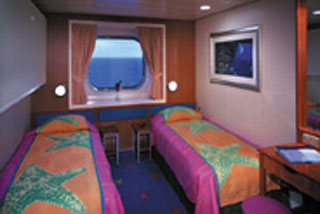 Oceanview cabin on Norwegian Star